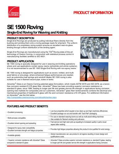 SE 1500 Roving