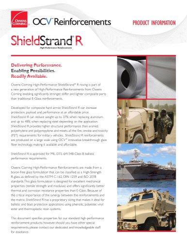 ShieldStrand® R Reinforcements