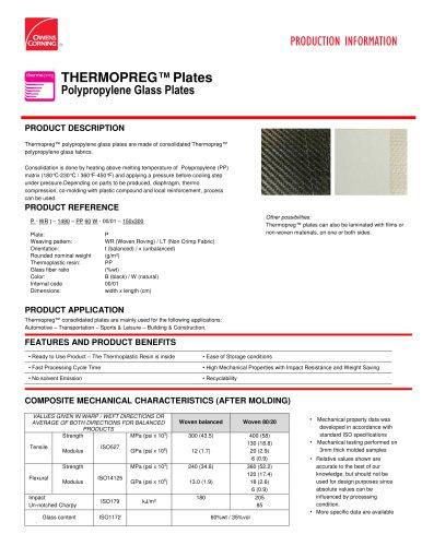 Thermopreg Plates