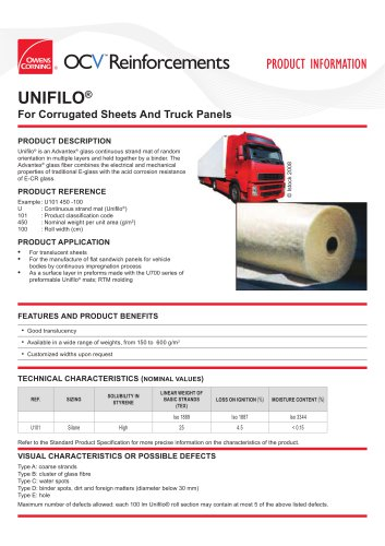 Unifilo® U101