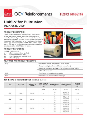 Unifilo® U500 series