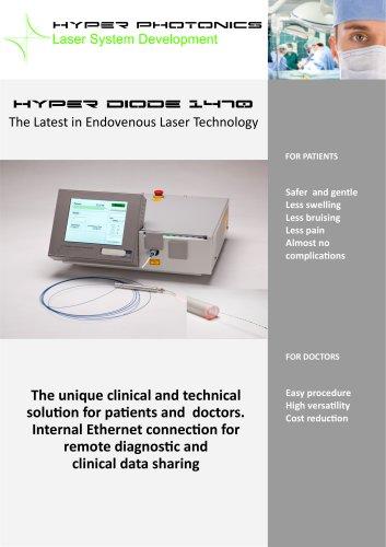 Hyper diode 1470 in Endovenous Laser