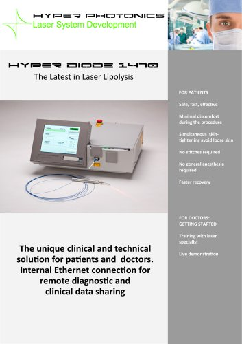 Hyper diode 1470 The Latest in Laser Lipolysis