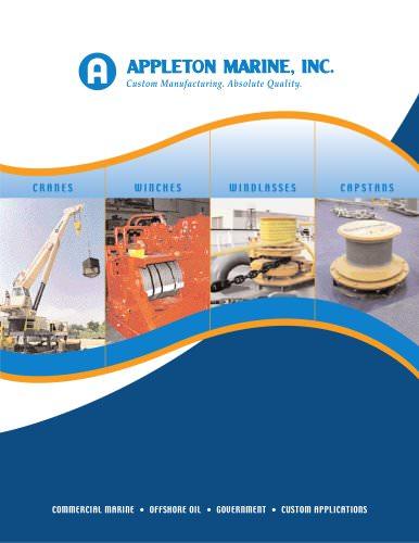 Appleton Marine Brochure