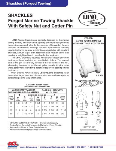 Shackles (Forged Towing)