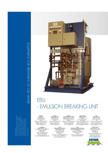 EBU - Emulsion Breaking Unit