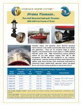 Hydra Tsunami Thruster Product Brochure