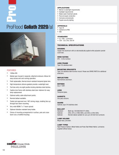 Pauluhn ProFlood Goliath 2020/al Floodlights