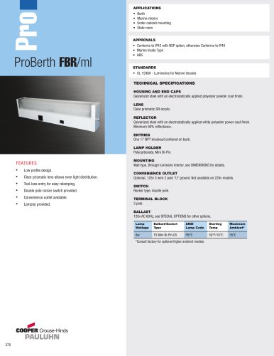 ProBerth FBR/ml