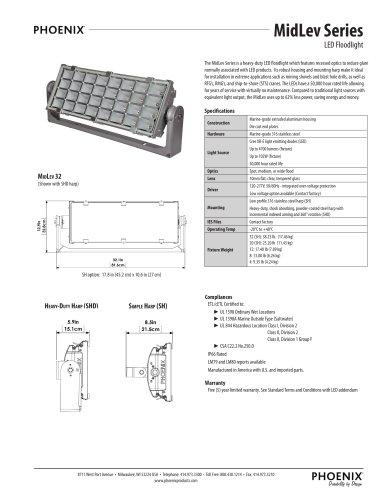 MidLev LED Floodlight Series