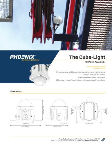 The Cube-Light   13W LED Area Light