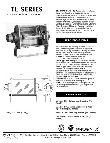 TL Series - Tower Floodlight