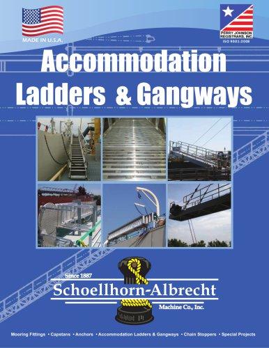 Accommodation Ladders &  Gangways