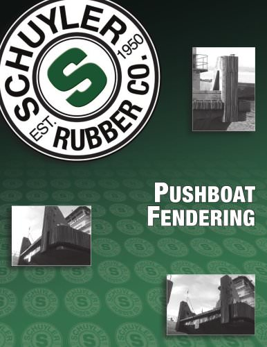 Pushboat fendering