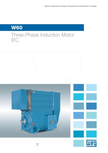 W60 Three-Phase Induction Motor - IEC - Weg Electric Motors