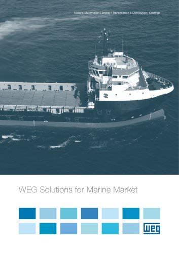 WEG Solutions for Marine Market