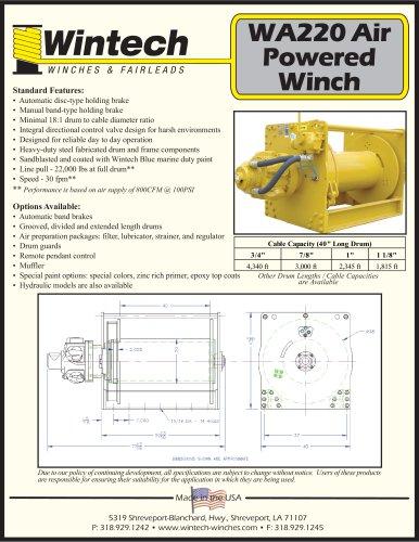 WA-220 Air Winch