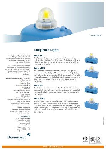Lifejacket Lights M2, MR2, W2, WR2, L7A2, L6, L6A