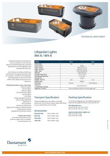 Lifejacket Lights M4-A / W4-A