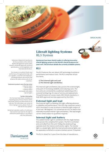 Liferaft lighting Systems RL5 System