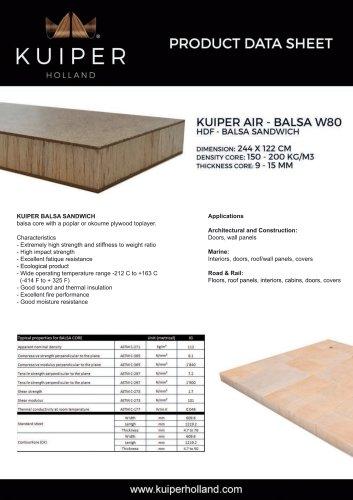 BALSA W80