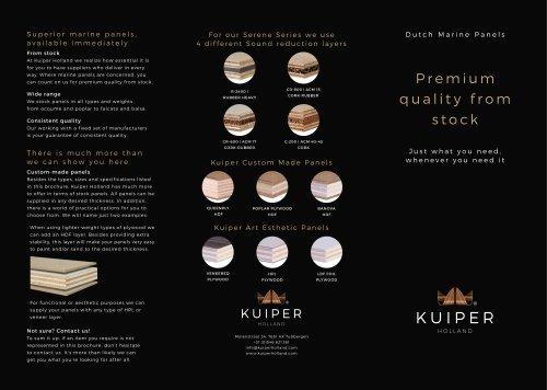 Kuiper Basic Stock