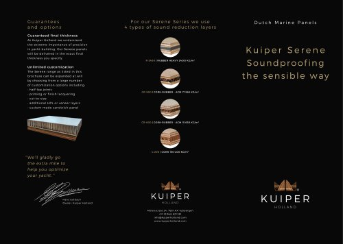 Kuiper Serene Soundproof Panels