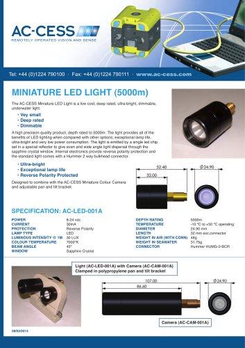 MINIATURE LED LIGHT 5000m