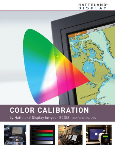 Color Calibration for your ECDIS US