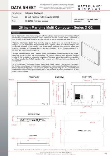 HD 26T22 MMC