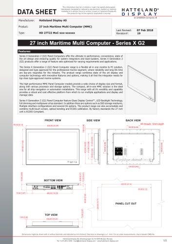 HD 27T22 MMC