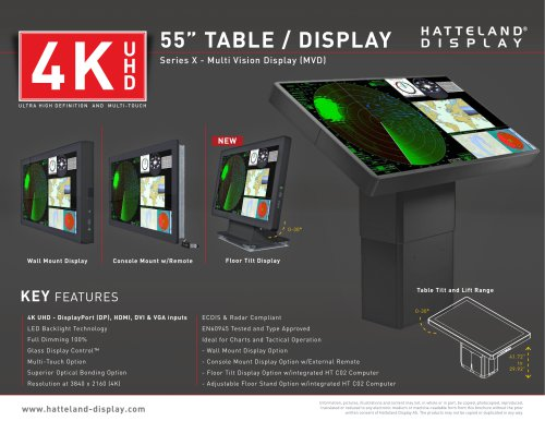 Series X - 32 and 55 inch