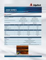 2000 series COMBINED SIDE SCAN SONAR & SUB-BOTTOM PROFILING SYSTEM - 2