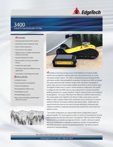 3400 SUB-BOTTOM PROFILING SYSTEM