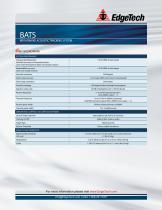 BATS product brochure - 2