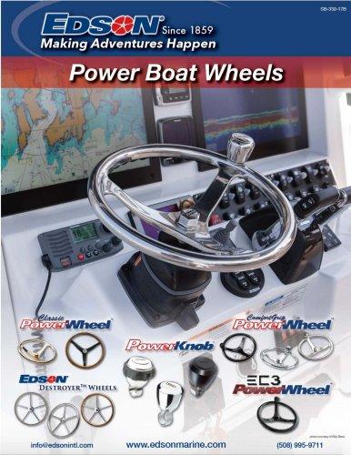 Power boat wheels