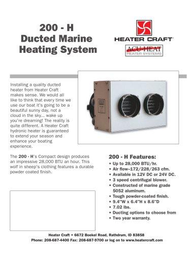 200-H heater