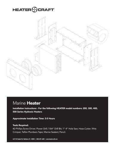 Hydronic Heater Marine