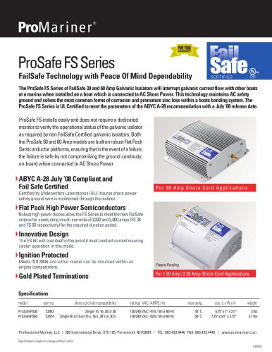 Failsafe Galvanic Isolator Professional Mariner Pdf