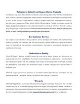 Schmitt and Ongaro Marine Products - 2