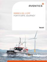 Marex OS II CPP - For a safe journey
