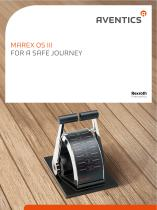 Marex OS III - For a safe journey