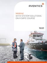 Marine - With system solutions on a safe course