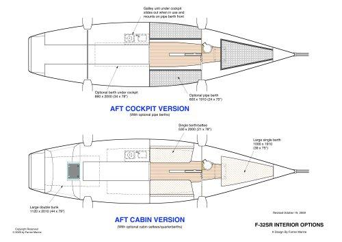 F-32 SR Interior