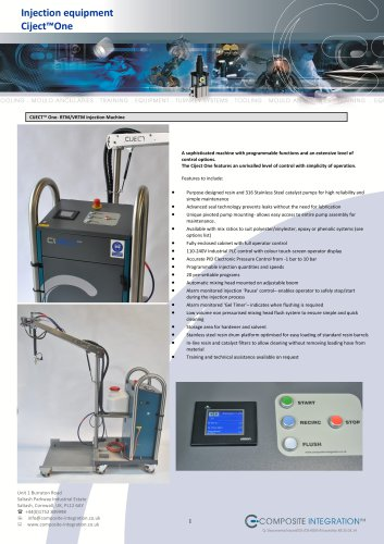 Ciject One Resin Injection Machine
