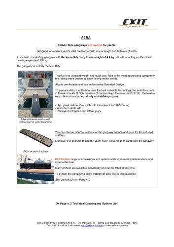 Carbon Gangway_ALBA