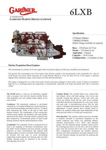 Gardner 6LXB engine