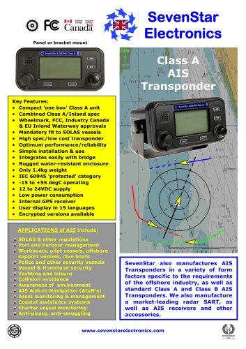 S.288 Class A AIS Transponder