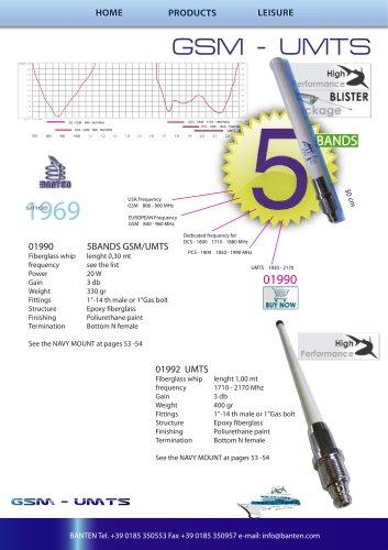 5 BANDS/GSM/TU