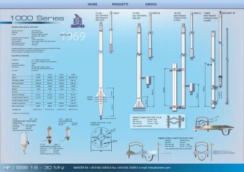 HF / SSB 1,6 - 30 Mhz